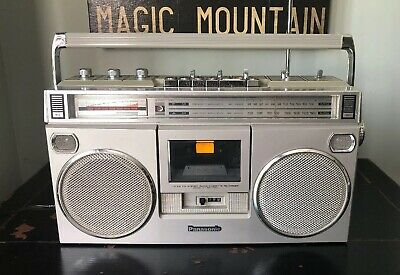 Vintage Panasonic RX-5090 AM/FM Stereo Cassette Player - Boom Box - Japan