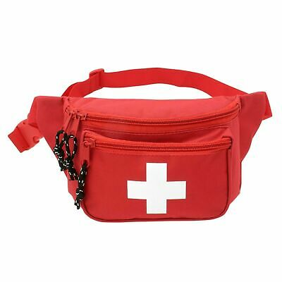 First Aid Waist Pack / First Aid Fanny Pack - Lifeguard Baywatch Style Emergency