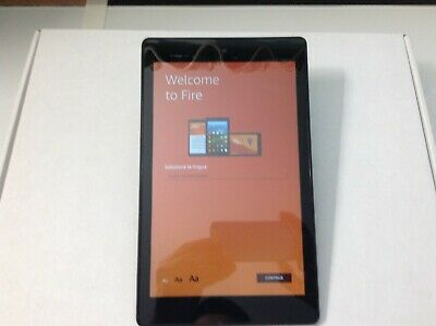 Amazon Kindle Fire HD 8 (7th Generation) 16GB, Wi-Fi, 8in - Black (SX034QT)