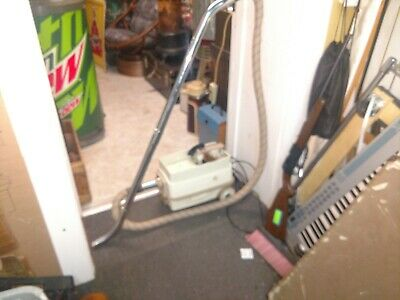 Vintage General Electric Canister Vacuum Cleaner