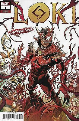 Loki #1 Sliney Carnage-Ized Variant Marvel Comics Nm 2019