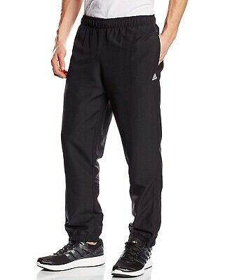 Mens New Adidas Stanford Tracksuit Jogging Bottoms Joggers Track Pants - Black