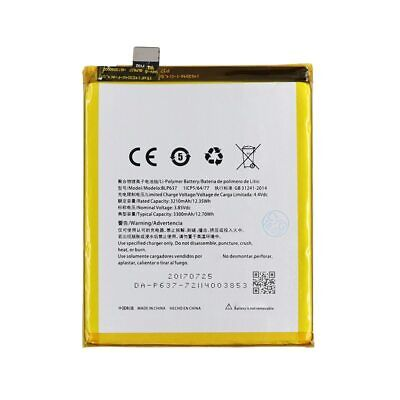 Phone Battery For OnePlus 5 5T BLP637 Capacity 3300 mAh Genuine Replacement New