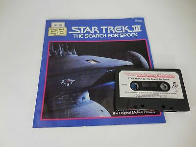 Star Trek 3 - The Search for Spock - Book and Tape 1984