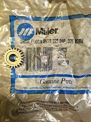 Miller 168825 Drive Pinion Gear 22T 24P For SWINGARC SS-12 SS-16 Wire Feeder