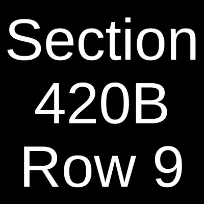 4 Tickets Texas Rangers @ New York Yankees 9/2/19 Yankee Stadium Bronx, NY