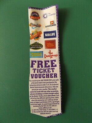 2 For 1 Entry Ticket Voucher Merlin Attractions Legoland Alton Towers Thorpe Pk