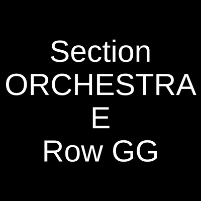 2 Tickets Game of Thrones Live Concert Experience 9/14/19 Wantagh, NY