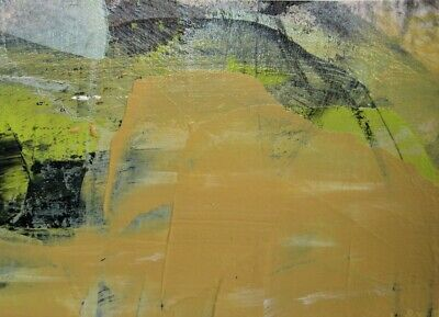 ACEO Original contemporary abstract Painting acrylic paper Revival #11 KCrosby