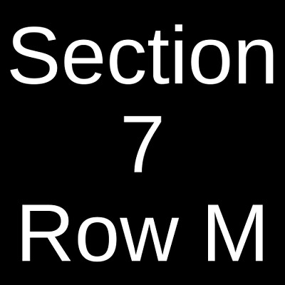 2 Tickets Zac Brown Band 10/20/19 Tampa, FL