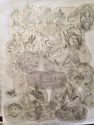 Acetate Stencils 30 Original From Bert Grimms Hollywood Shops 70s 80s Vintage