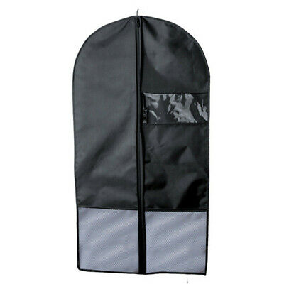 3Pcs Waterproof Oxford Cloth Garment Bag Suit Coat Dust Cover With Clear Window