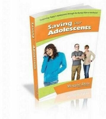 NEW Saving Our Adolescents By Maggie Dent Paperback Free Shipping