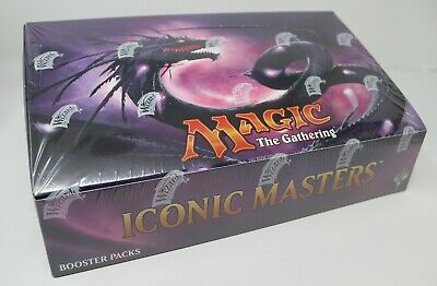 Iconic Masters Booster Box Case Factory Sealed MTG Magic