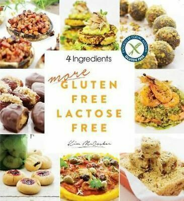 NEW More Gluten Free Lactose Free By Kim Mccosker Paperback Free Shipping