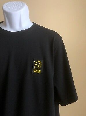 4fda3509fce76 PUMA X XO mens black patch graphics tee medium Weeknd renaissance ...
