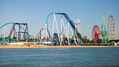 (4) Single Day Tickets to any Cedar Park, Cedar Point, Kings Island, Knotts, etc