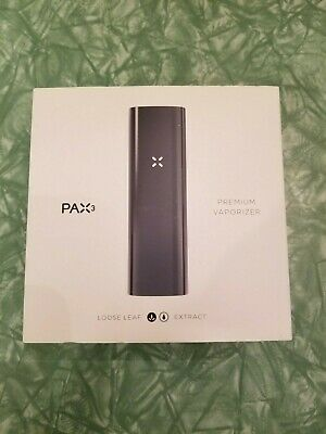 Brand New Pax 3 Dry Herb Vaporizer Complete Kit Matte Black Free Shipping New!