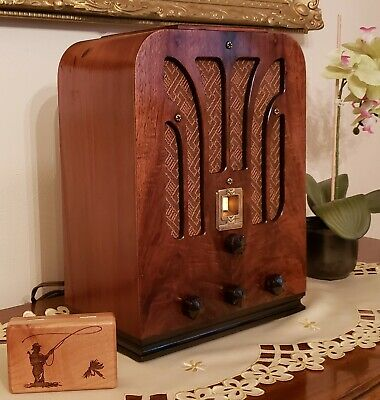 Vintage GE A-53 Tombstone AM/SW Radio (1935)  ***BEAUTIFULLY RESTORED***