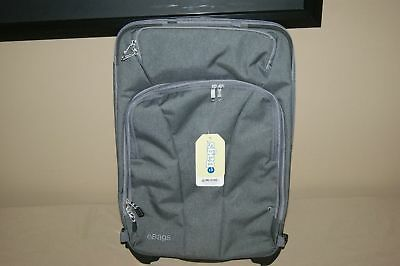"eBags TLS Expandable Rolling Carry On Luggage Suitcase 22"" Convertible Grey"