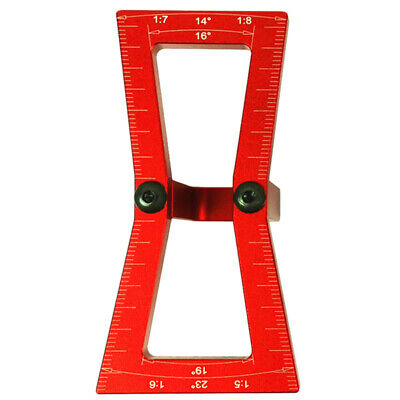 Dovetail Marker,Hand Cut Wood Joints Gauge Dovetail Guide Tool, Dovetail Te Z8T5