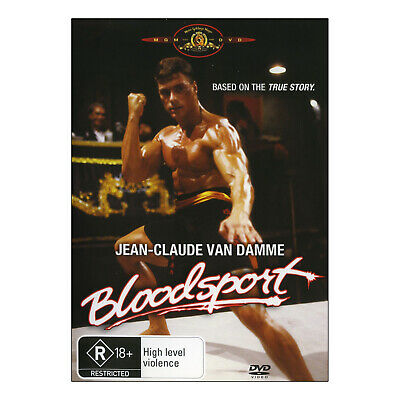 Bloodsport DVD Brand New Region 4 Aust. - Jean-Claude Van Damme as Frank Dux