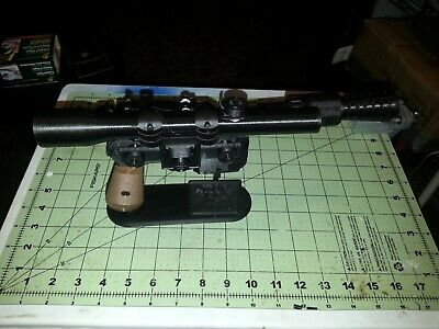 Han Solo Star Wars blaster dl-44 prop - Help wipe out the Empire with free stand