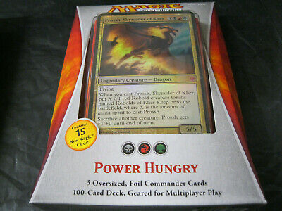 MTG Magic the Gathering - Factory Sealed - English Commander 2013 Power Hungry