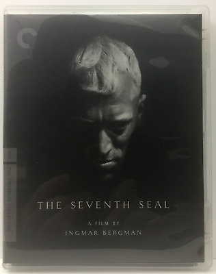 The Seventh Seal (Blu-ray Disc, 2009, Criterion Collection) Max von Sydow