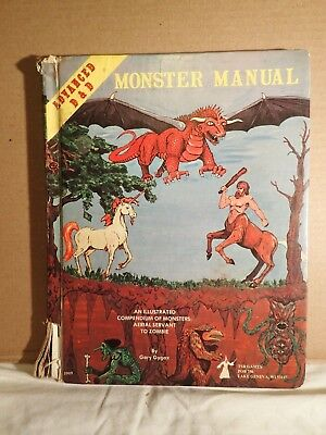 Advanced Dungeons & Dragons Monster Manual (1979 TSR 2009) 1st Ed 4th Beta print