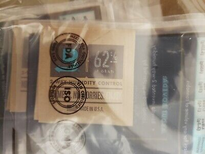 100 Count Case Boveda 62% Rh (4 Gram) - Brand New, Individually Wrapped