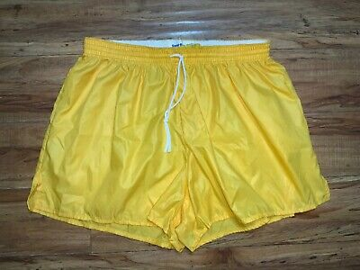 Vintage Sand-Knit By Macgregor Running Shorts Youth Xl Yellow