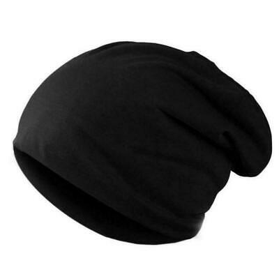 AKIZON Beanie Hat Skull Cap Baggy Thin Soft Slouchy for Men Women Solid Color