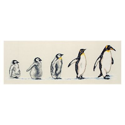 Penguins In A Row - Anchor Cross stitch kit PCE751