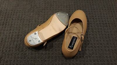 Tap Dance shoes, tan colour, size 12, as new condition