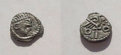 Anglo-Saxon. Silver Sceat, Abramson Type 18-20 Variant. VF.