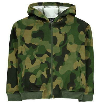 USA PRO Little Mix Camo Hoodie Girls Size 7-8Years Long Sleved *REF36