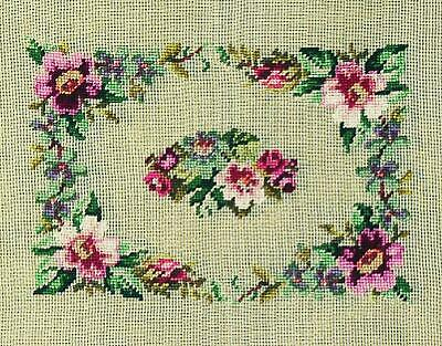 Martin Winkler Tramme Tapestry/Needlepoint Kit - Floral Seat Cover