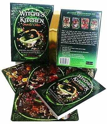 Witches Kitchen 48 Oracle Cards - Guidebook Recipes Rituals Wicca Magic