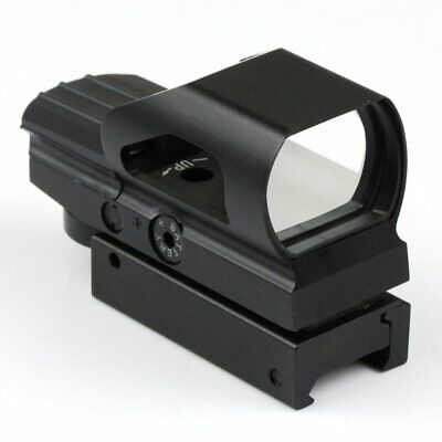 Holographic Laser Reflex Red Green 4 Reticle Dot Sight Scope 21mm Picatinny Rail