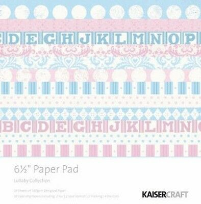 """KAISERCRAFT - LULLABY - 6.5""""x6.5"""" PAD (DESIGNER, SPECIALITY PAPERS & DIECUTS)"""