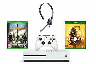 Xbox One S 1TB Console Tom Clancy's The Division 2 Bundle Xbox Mortal Kombat 11