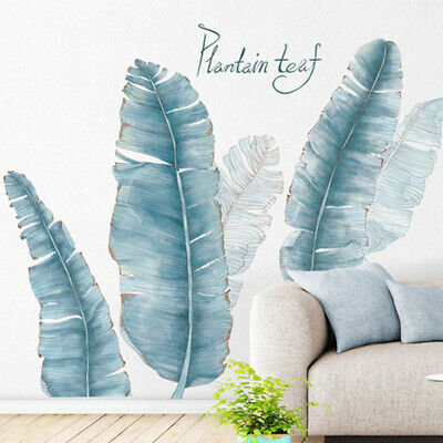 Vintage Feather Wall Sticker Self Adhesive Kitchen Bathroom Living Room Decal