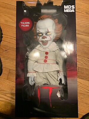 "Mezco Designer Series IT 15"" 2017 Mega Scale Talking Pennywise Figure"