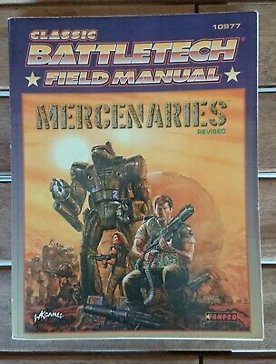 Classic BATTLETECH 10977 - Field Manual - Mercenaries Revised.