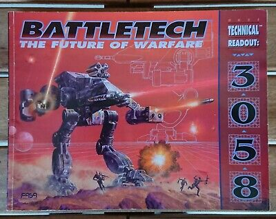 BATTLETECH 8621 - Technical Readout: 3058 - The Future of Warfare