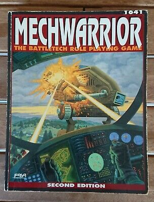 MECHWARRIOR 1641 - The Battletech Role Playing Game - Second Edition