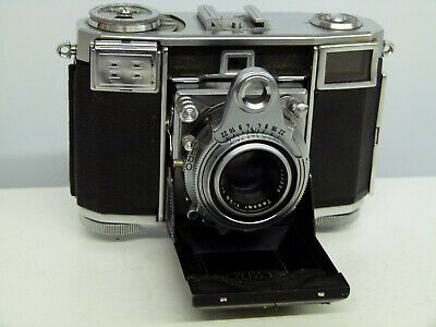 Zeiss Ikon Contessa 5337/24 Rangefinder 35mm Camera Opton Tessar Lens EXCELLENT1
