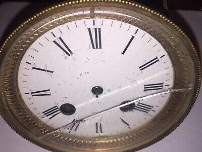 Antique Japy Frères French Mantle Clock Movement Parts/Repair