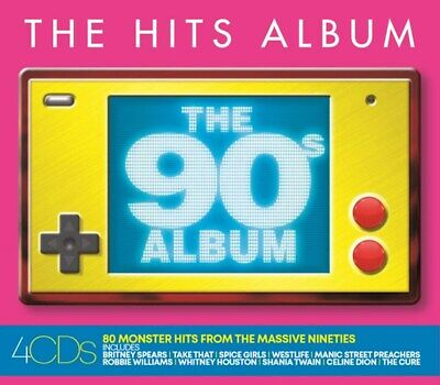 The Hits Album: The 90s Album - Various Artists (Box Set) [CD]